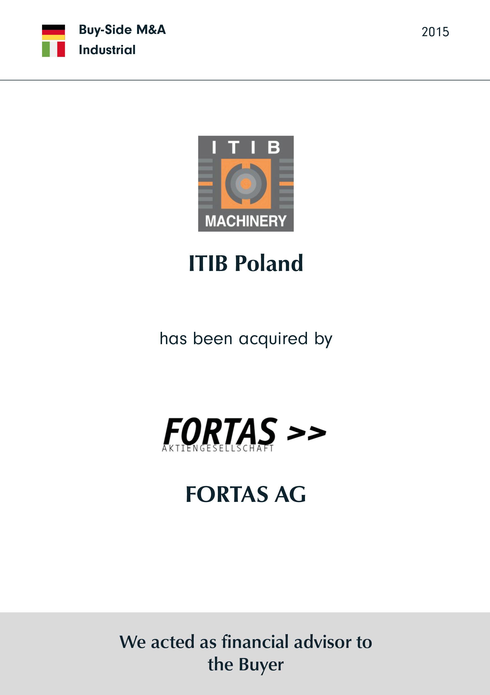 ITIB | wurde erworben von | Fortas