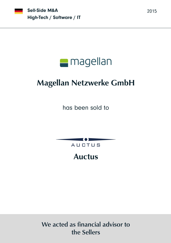 magellan netzwerke | wurde verkauft an | AUCTUS