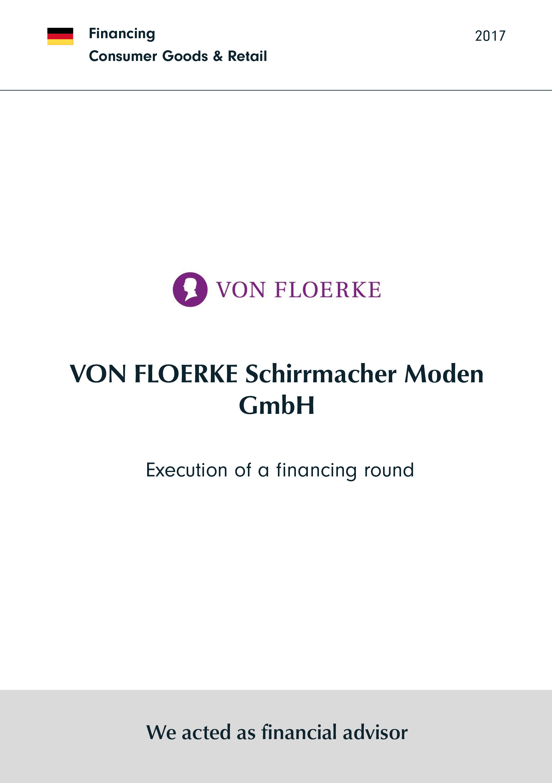 von Floerke | Execution of a financing round