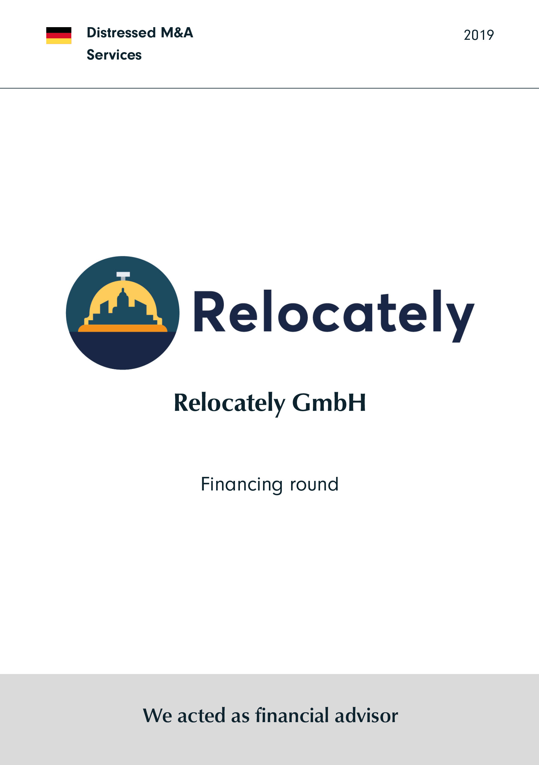 Relocately | Financing round